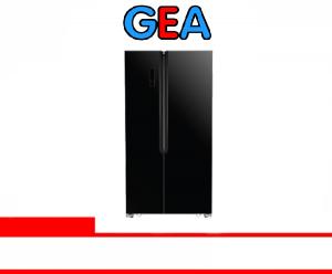 GEA REFRIGERATOR SIDE BY SIDE (G2D-472 BLK GLS)
