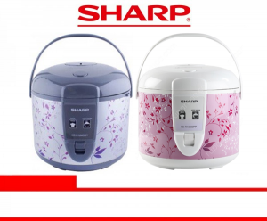 SHARP RICE COOKER (KS-R18MS BR/GY/PK/PP)
