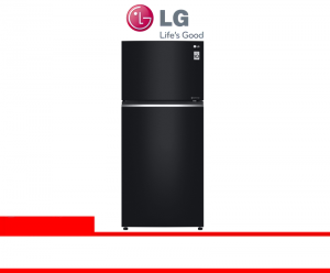 LG KULKAS - 2 PINTU BLACK GLASS (C702SGGU)