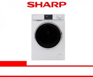 SHARP WASHING MACHINE FRONT LOADING 9 Kg (ES-FL1290BG)