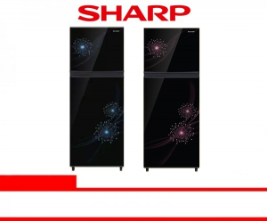 SHARP REFRIGERATOR 2 DOOR (SJ-317MG-DB/DP)