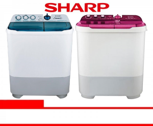 SHARP WASHING MACHINE (ES-T85CR-BK/VK/PK)