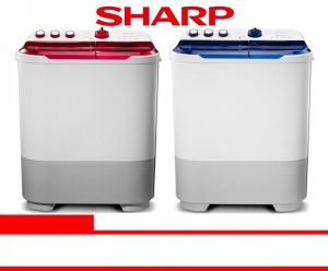 SHARP WASHING MACHINE (ES-T871DM-BL/PK)