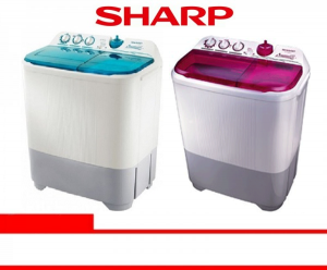 SHARP WASHING MACHINE (ES-T95CR-BK/VK/PK)