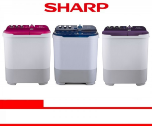 SHARP WASHING MACHINE (ES-T1090-PK/VK/BK)