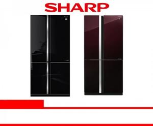 SHARP REFRIGERATOR SIDE BY SIDE SJ-IF91PG-BK/RD